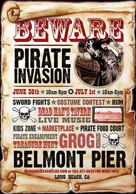 Pirate Invasion Of Belmont Pier «