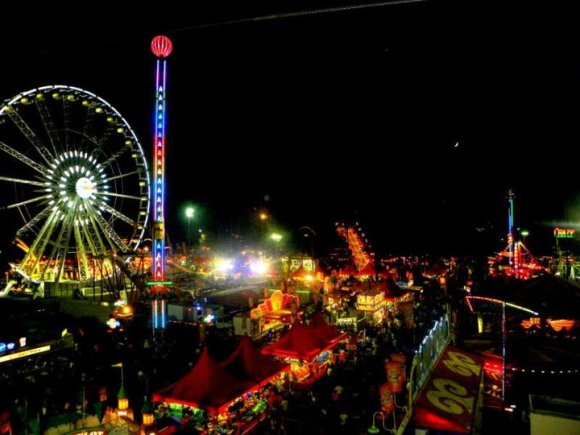 La county fair dates