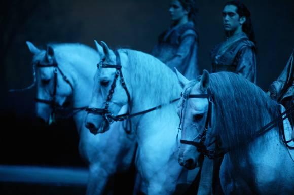 Cavalia, spectacle conu par Normand Latourelle, mis en scne par Eric Villeneuve, sur des chorŽgraphies de Brad Denys