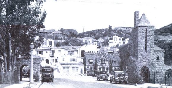 Hollywoodland historic photo