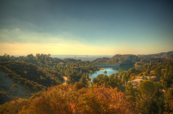 USA Los Angeles - Hollywood - Hollywood Reservoir