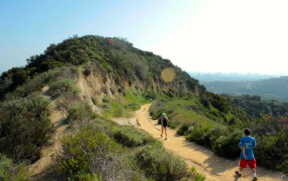Hastain Trail in Franklin Canyon Park