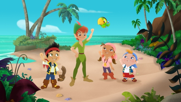 JAKE, PETER PAN, SKULLY, IZZY, CUBBY