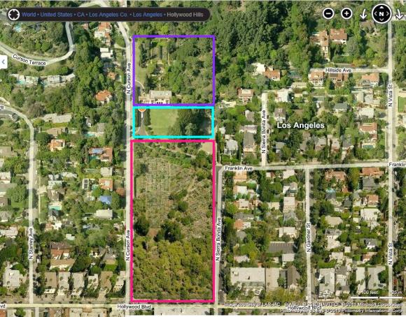 Wattles-Mansion-aerial-view