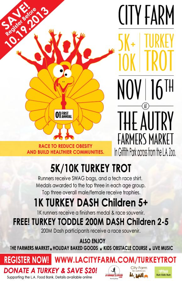 turkey trot city farm