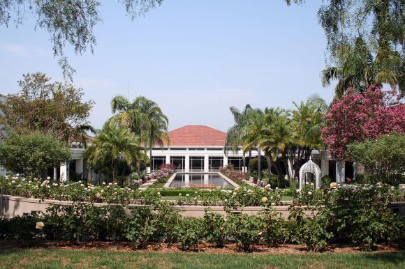 Nixon_Library_and_Gardens