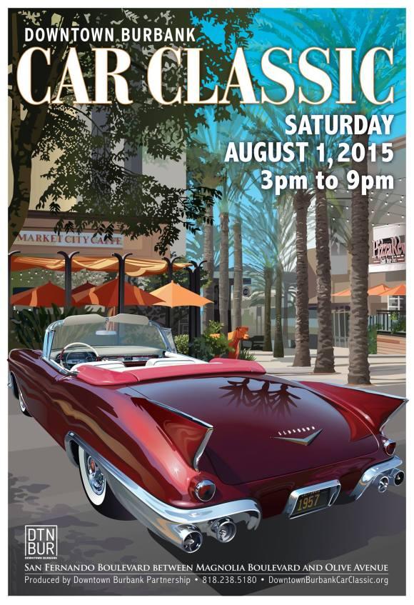 Downtown Classic Coastal Home: Downtown Burbank Car Classic