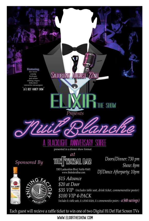 Elixir Anniversary Poster Small Version